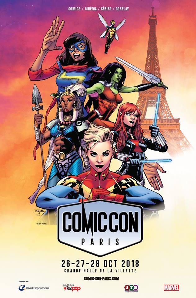 ComicConParis2018Affiche
